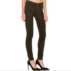 7 For All Mankind the mid rise skinny